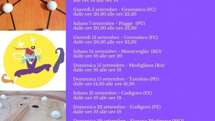 Calendario Ludobus Scombussolo Settembre